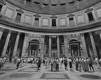Pantheon Interior, Rome, Italy