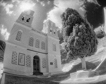 Church and Tree, Amorgos Island, Greece