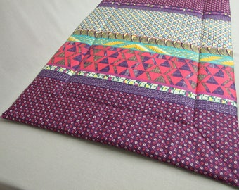 Rug 57 x 88 cm ethnic purple dog