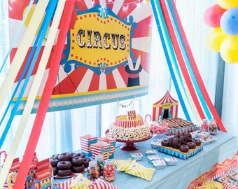 Circus Carnival Party Decorating Kit