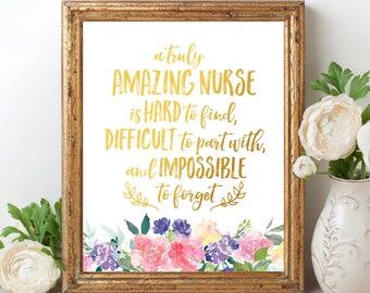Nurse Thank You Etsy