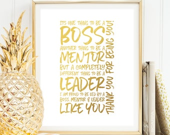 Boss leaving gift etsy boss thank you gift its one thing to be a boss printable boss day gift for boss appreciation day woman boss leaving gift boss gift ideas negle Choice Image