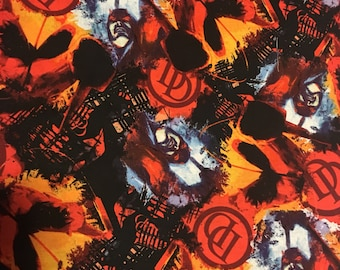 "Moon Knight silk screen fabric poster 36/"" x 24/"" approx"