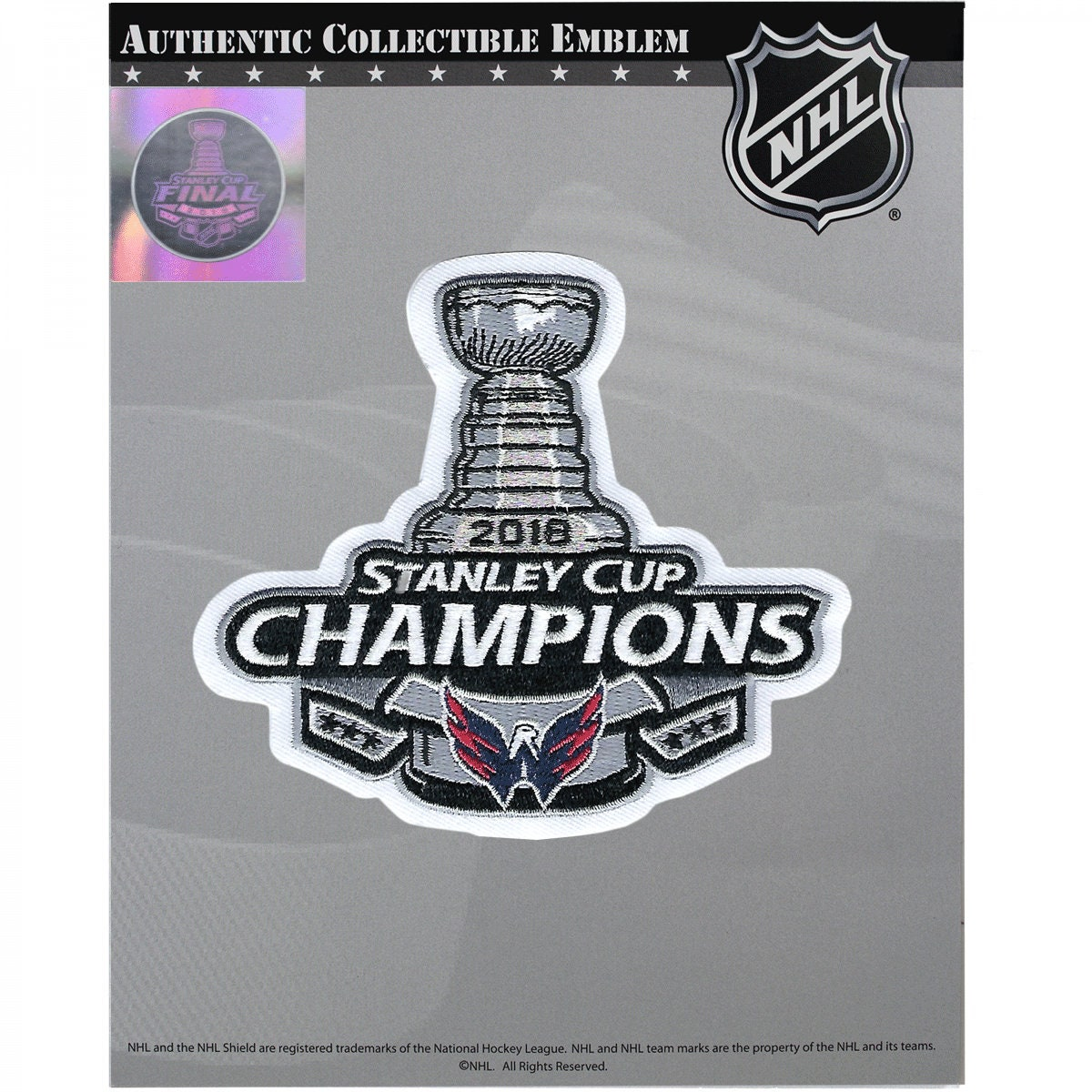 2018 Official Nhl Stanley Cup Final Champions Commemorative Etsy