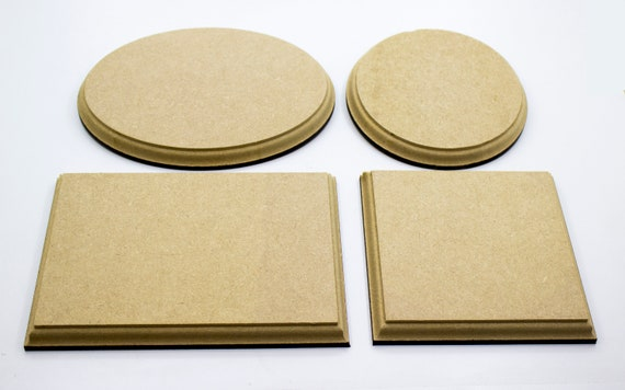 12mm MDF Wooden Craft Shapes Shield Trophy Plaques Blanks Templates Plinths