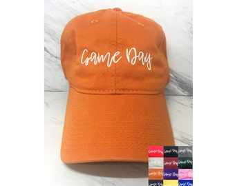 Game Day Embroidered Dad Hat 364e9eb4a563