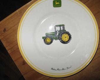 john deere plates etsy rh etsy com John Deere Diamond Plate License Plate John Deere Paper Plates & John Deere Wedding Plates - Just Wire u2022