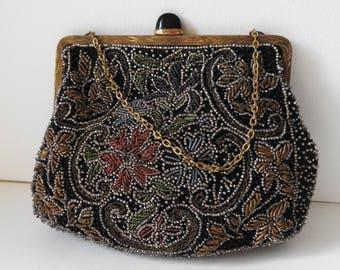 Art Deco 1930's Beaded Evening Bag
