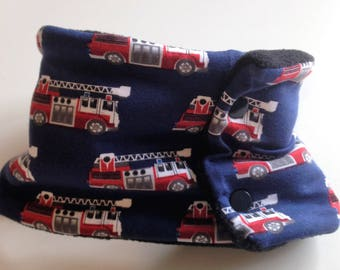 Snood baby 12 months firefighters