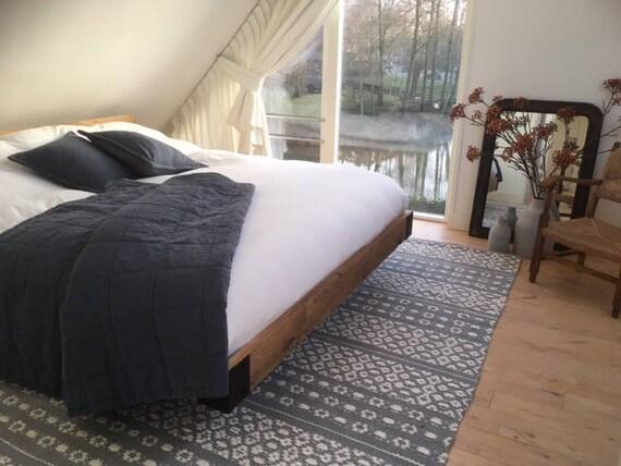 5x9 area rugs, Scandinavian rug, Gray white bedroom rug, cotton nursery  rug, kitchen area rug, modern rag rug, living room rug, washable