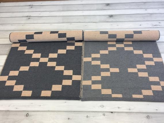 Skandinavische Läufer Teppich, waschbare Küche Boden Teppich, Baumwolle  Küche Bereich Teppich, moderne gewebte Teppich, Flur flach Weben Läufer ...