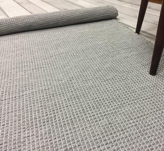 Waschbarer Läufer, Küche Bodenteppich, skandinavischen Teppich, modernen  Flickenteppich, Kinderzimmer Teppich, kleiner Teppich von Hand gewebt, ...