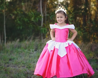1e47807574 Sleeping Beauty Dress   Inspired Disney Princess Dress Aurora Costume    Ball gown style for toddler