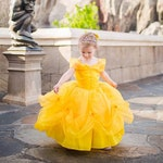 Belle Dress / Disney Princess Dress Beauty and the Beast  Belle Costume / Yellow Dress / for toddler, child, girl / Princess Costume