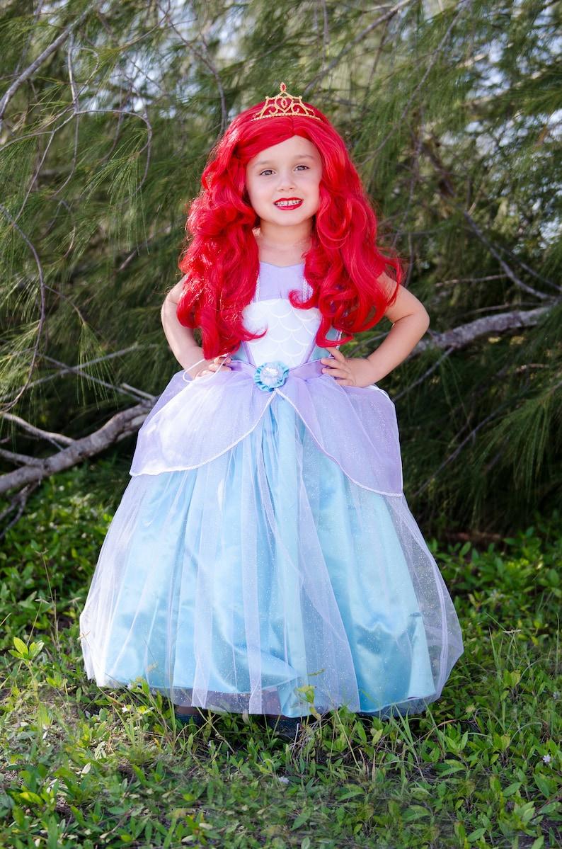 Little Mermaid Dress   Disney Princess Ariel Inspired Costume  365ae5ca1