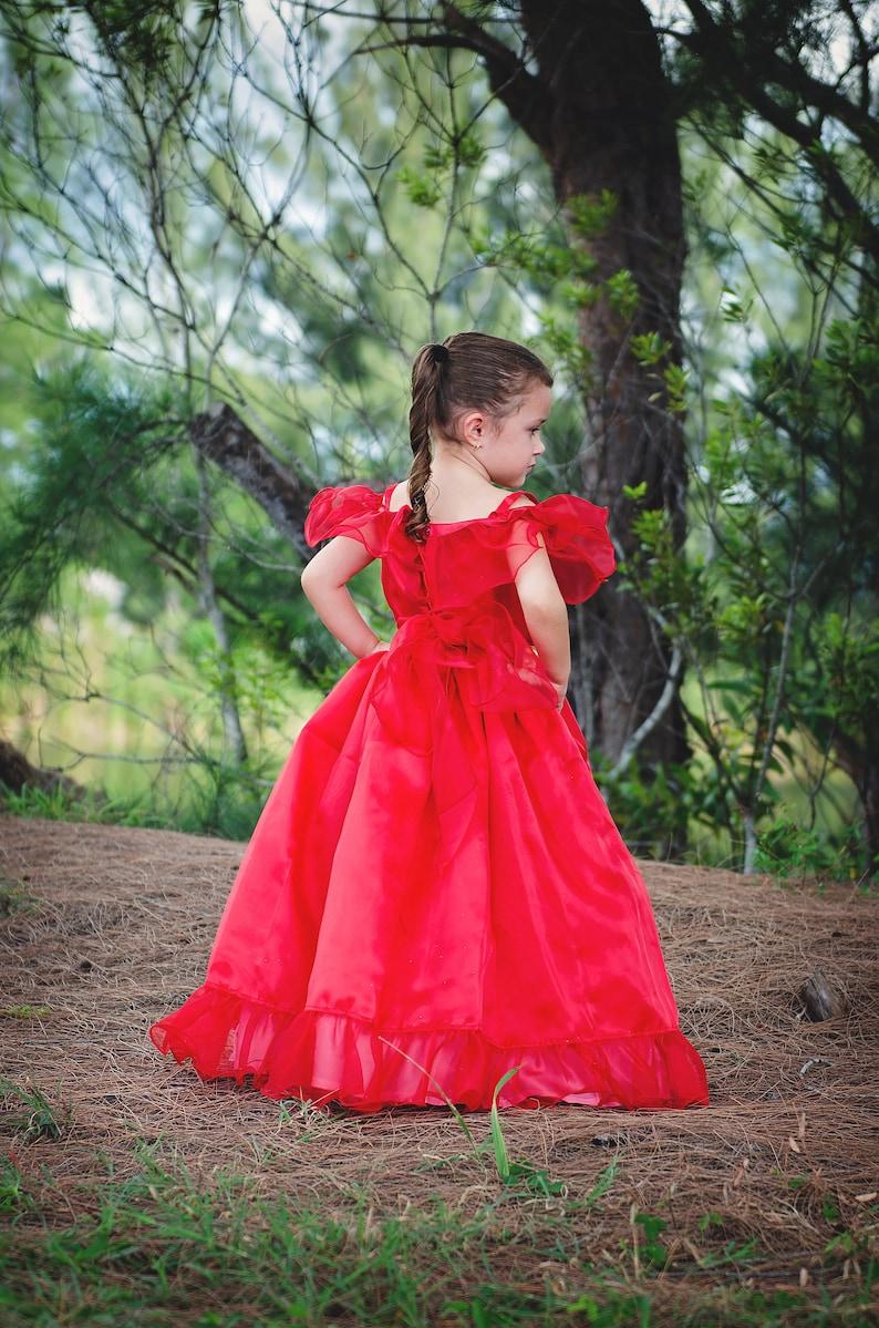 girl child READY TO SHIP Elena Dress  Disney Inspired Princess Elena of Avalor Inspired Costume  Princess Dress for toddler