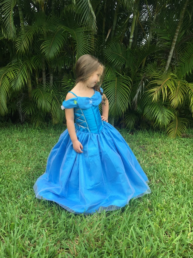 Cinderella Dress / Disney Princess Dress Inspired Costume Ball | Etsy