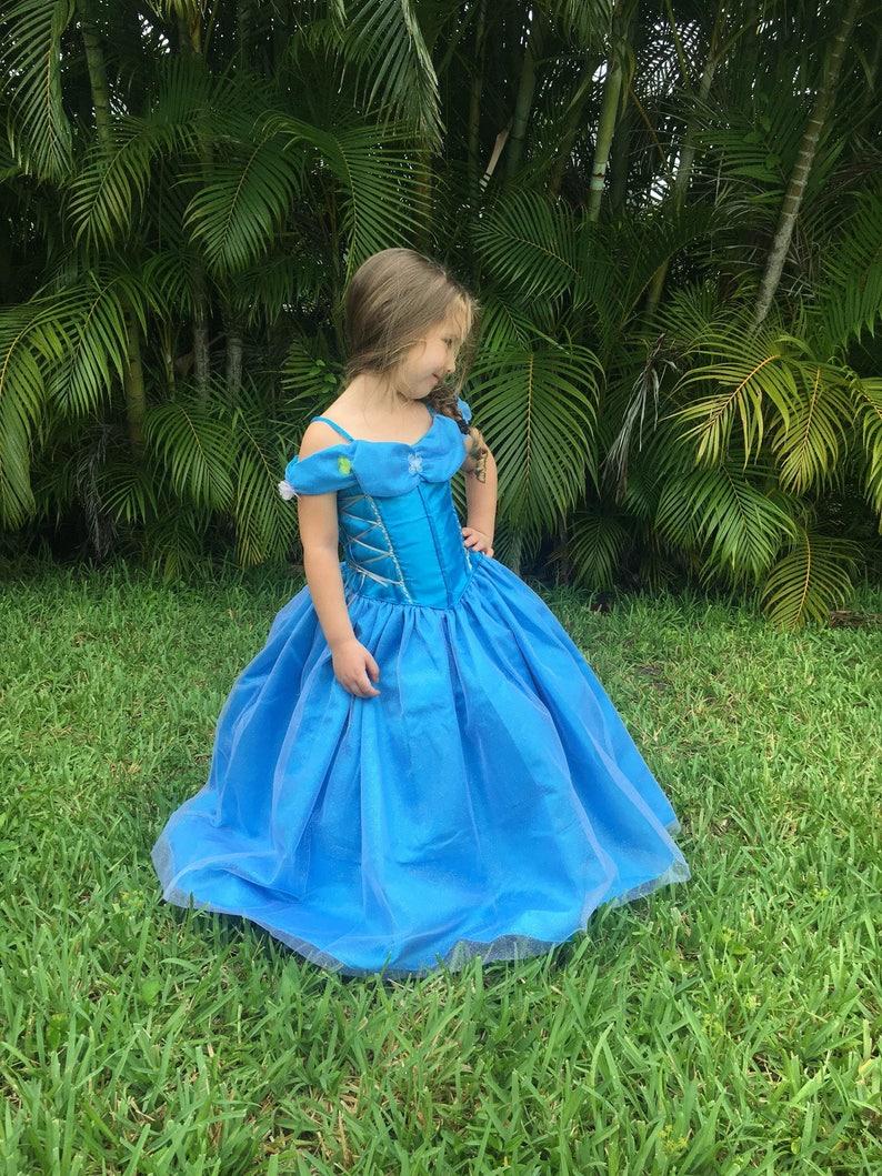64e5dbd0e0e0 Cinderella Dress   Disney Princess Dress Inspired Costume Ball