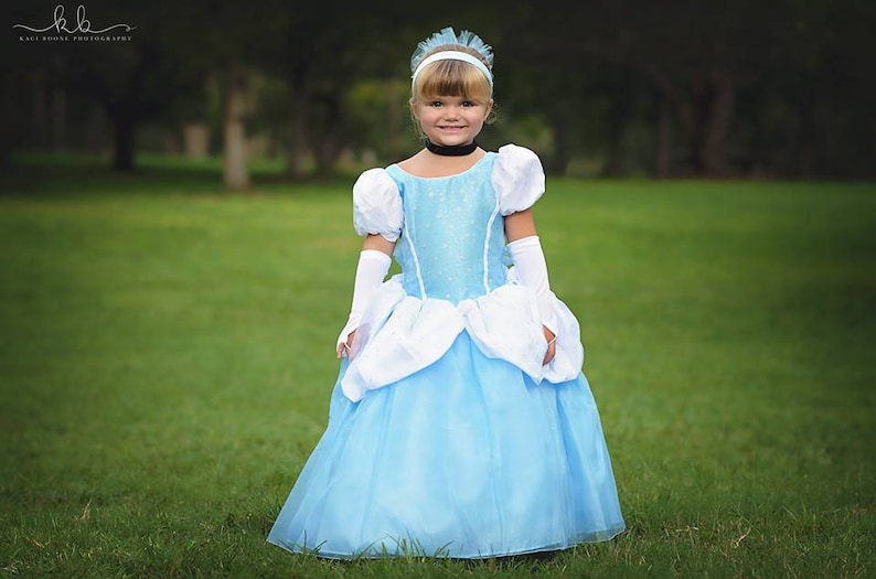 ecb6b2319d94 Cinderella Dress   Disney Princess Dress Inspired Costume Ball