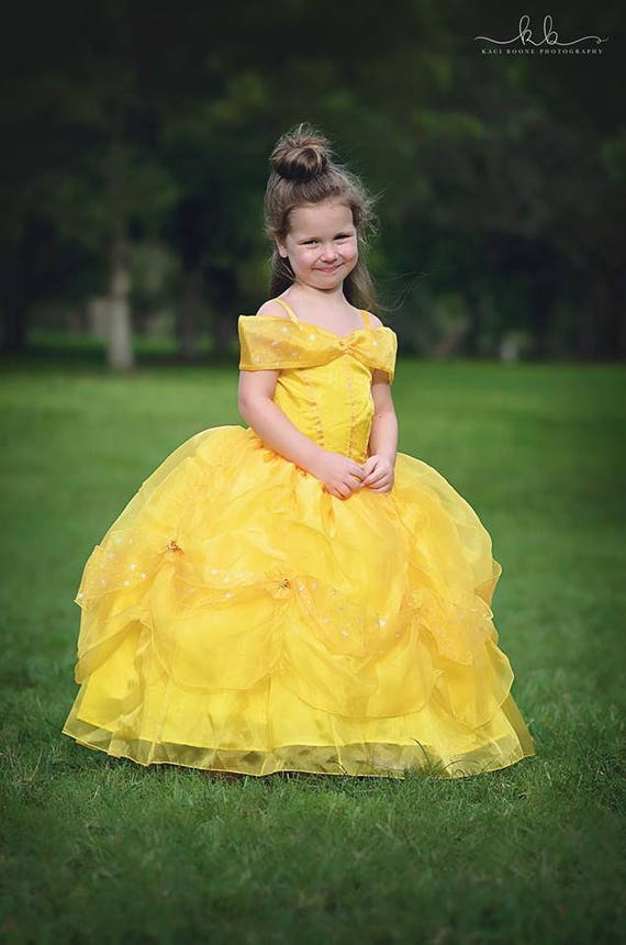 Belle Dress / Disney Princess Dress Beauty and the Beast | Etsy
