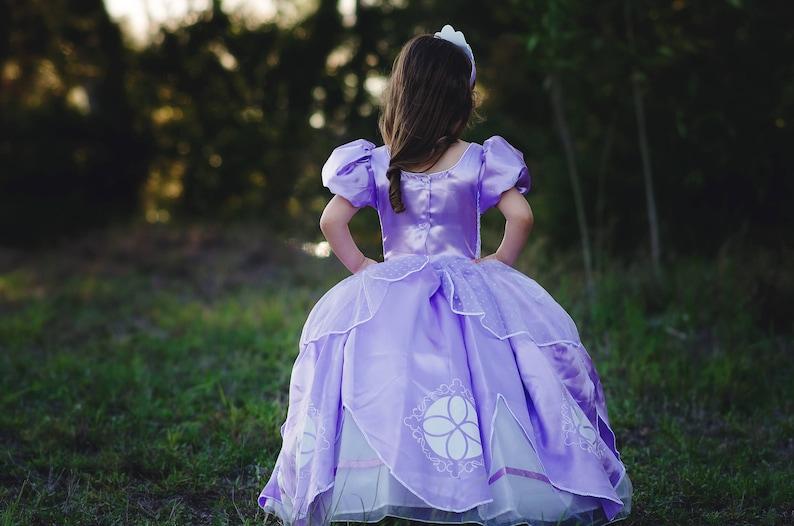 83f8134ca Sofia Dress / Disney Princess Dress Inspired Sofia the First   Etsy