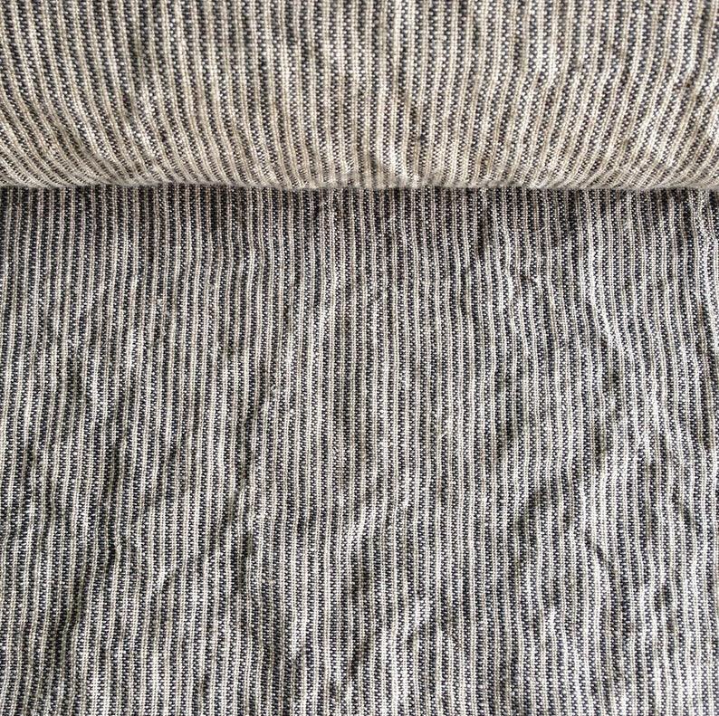 Stonewashed Linen Fabric