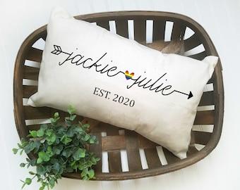 Lesbian Girlfriend Gift, Lesbian Couple Gifts, Lesbian Gift, Lesbian Couple Wedding Gift, Lesbian Couple Gift Ideas, Lesbian Pillow Case