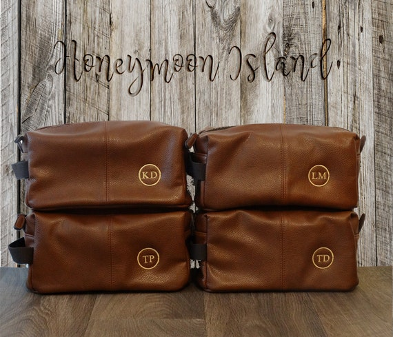 Groomsmen Gifts Set of 4 Mens Toiletry Bag Gifts for   Etsy 61e4526136