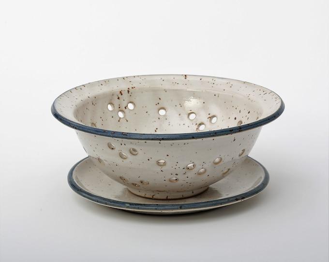 Obstsieb Blue-white Love of Ceramics