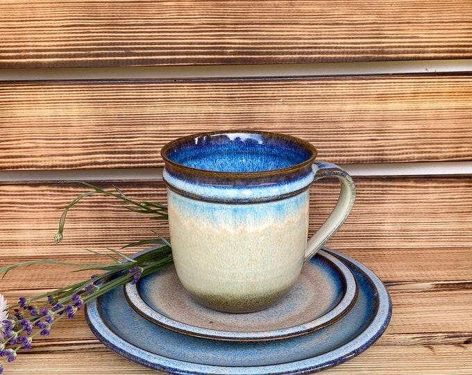 Tasse,Teller, Untersetzer Keramik