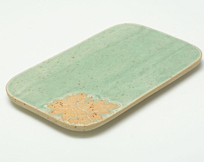 Fruit board Cutting board ceramic, 22 cm x 14 cm