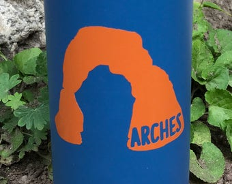 Arches National Park Delicate Arch Vinyl Sticker