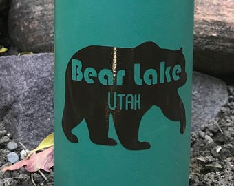 Bear Lake Utah Mountains Vinyl Sticker