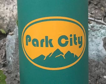 Park City Utah Vinyl Sticker