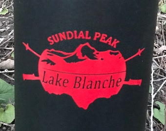 Sundial Peak Wasatch Utah Vinyl Sticker