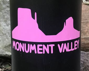 Monument Valley Vinyl Sticker