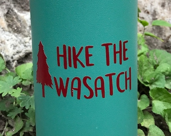 Hike The Wasatch Vinyl Sticker