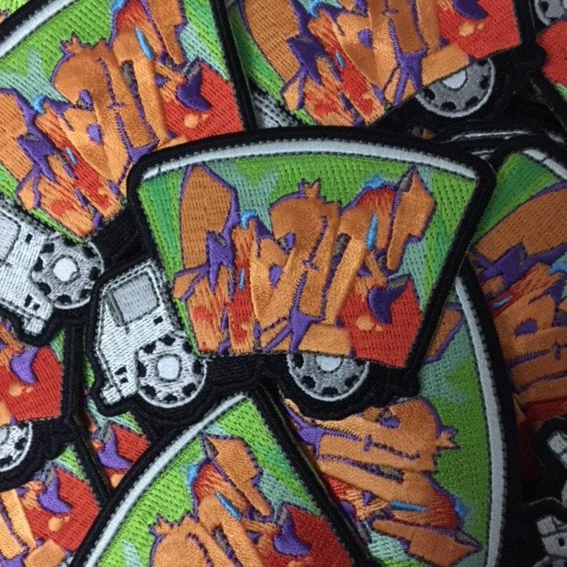 Wane RFC COD Graffiti Street Art Pin