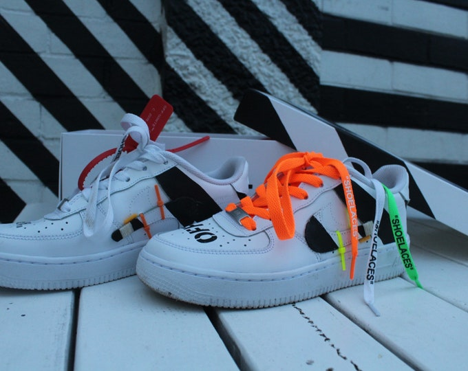 Featured listing image: Off White Custom Air Force 1's