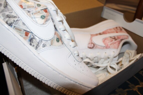 Cash Custom Air Force 1