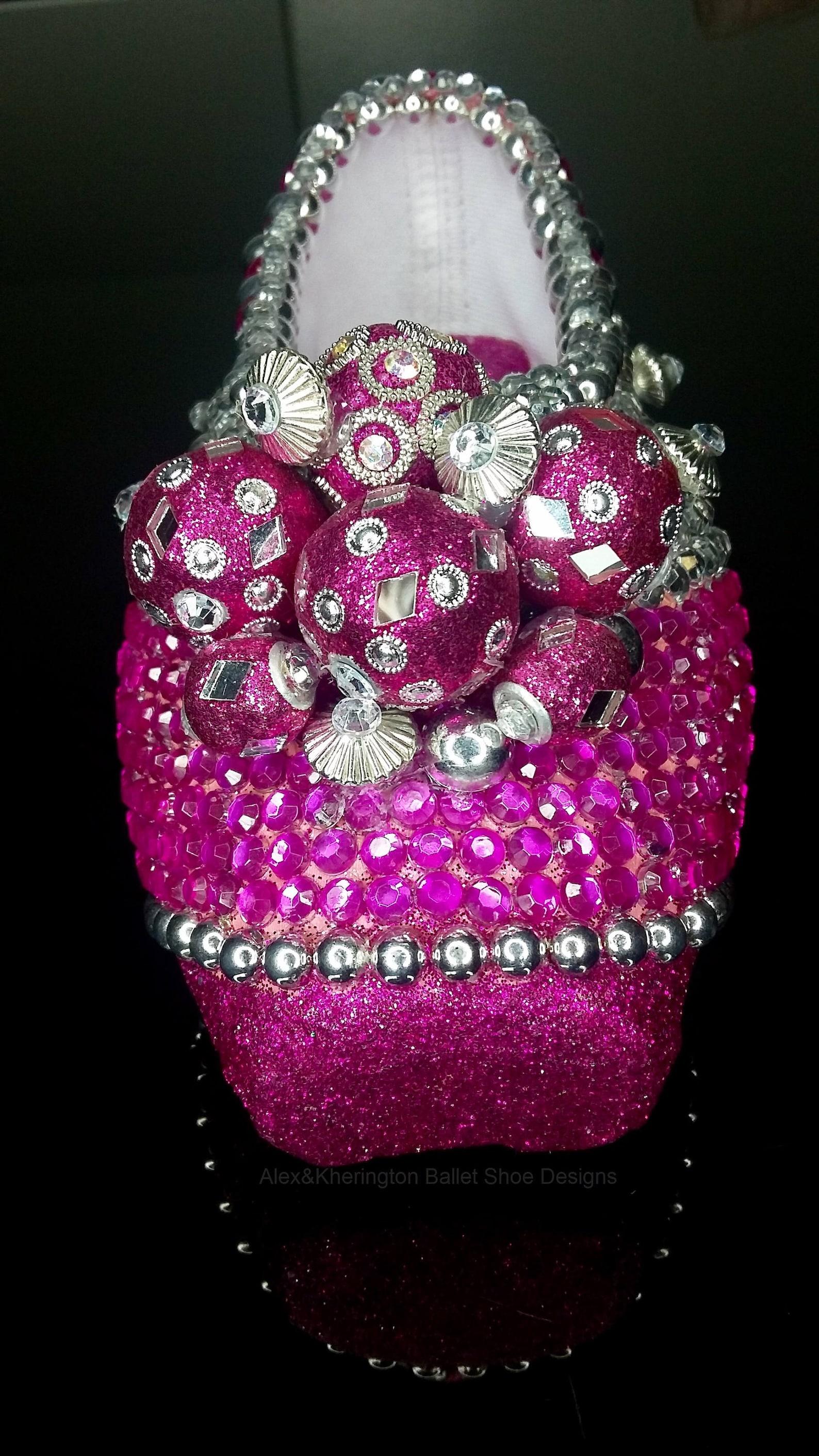 grand jeté - alex & kherington ballet shoe design, pointe shoe design, decorated pointe shoes