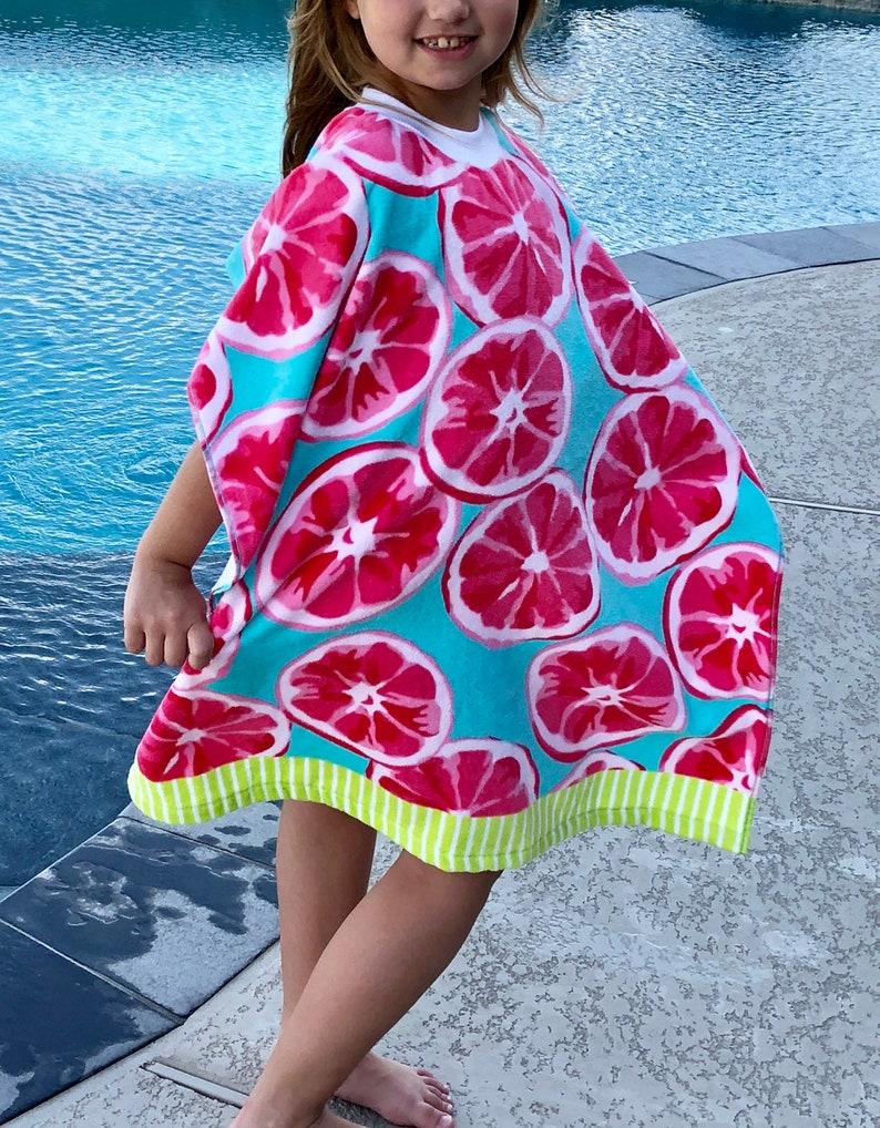 d8fb103cd7 Kid s Towel Pullover Beach Towel Beach Poncho