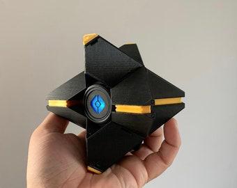 Destiny 2 3D Printed Ghost - Custom Colour with Light Up Eye