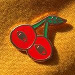 Spooky Cherry Hard Enamel Pin