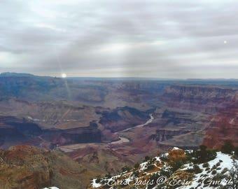 Winter in The Grand Canyon Arizona Landscape Photo