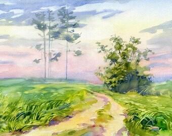 Watercolour Painting Clip Art Image JPEG High Resolution Q199