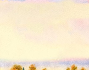 Watercolour Painting Clip Art Image JPEG High Resolution Q201