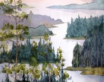 Watercolour Painting Clip Art Image JPEG High Resolution Q156