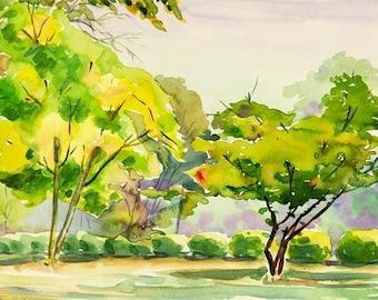 Watercolour Painting Clip Art Image JPEG High Resolution Q158