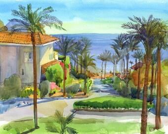 Watercolour Painting Clip Art Image JPEG High Resolution Q215